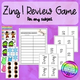 Seasonal Easy Review Game for Any Subject