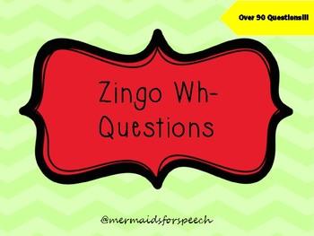 Zingo Wh Questions