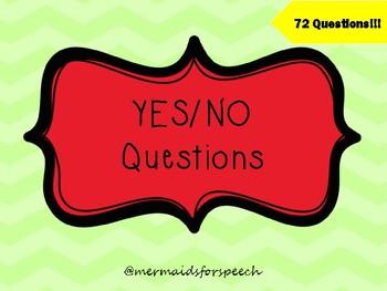 Zingo Yes No Questions