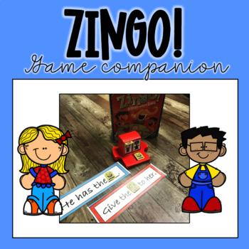 Zingo! game companion