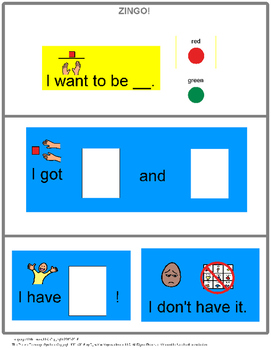Zingo! simple version [speech therapy and autism]