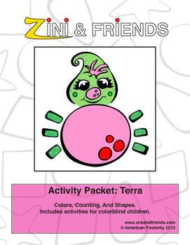 Zini And Friends Terra Activity Packet