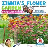 Zinnia's Flower Garden   Book Companion   Reader Response Pages   Art Craftivity