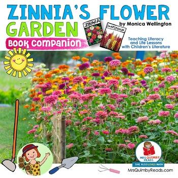 Zinnia's Flower Garden | Book Companion | Reader Response Pages | Art Craftivity