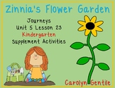 Zinnia's Flower Garden Journeys Unit 5 Lesson 23  Kindergarten Sup.  Act.