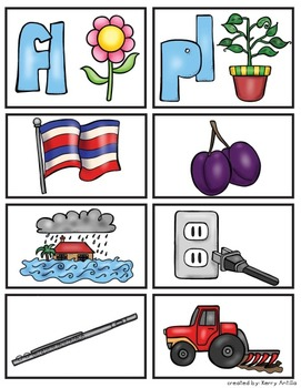 Zinnia's Flower Garden Vocabulary and Comprehension Pack