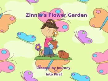 Zinnia's Flower Garden (Journeys Kindergarten Unit 5 Lesson 23)