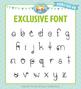 Zip-A-Dee-Doo-Dah Designs Doodle Font 10 — Includes Commercial License!