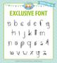 Zip-A-Dee-Doo-Dah Designs Doodle Font 6 — Includes Commercial License!