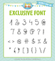 Zip-A-Dee-Doo-Dah Designs Doodle Font 8 — Includes Commercial License!