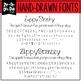 Zip-A-Dee-Doo-Dah Designs Font Collection 1 — Includes Commercial License!