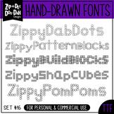 Zip-A-Dee-Doo-Dah Designs Font Collection 16 — Includes Commercial License!