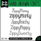 Zip-A-Dee-Doo-Dah Designs Font Collection 9 — Includes Com