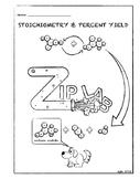 (Baking Soda + Vinegar) Calculating % Yield Chemistry Zip Lab Experiment 2nd