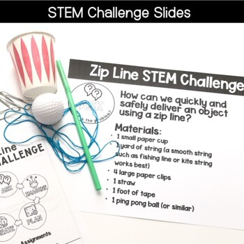 Zip Line STEM Challenge
