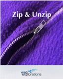 Zip & Unzip - Compressing and Uncompressing Files (Distanc