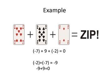 Zip Zilch Zero Game