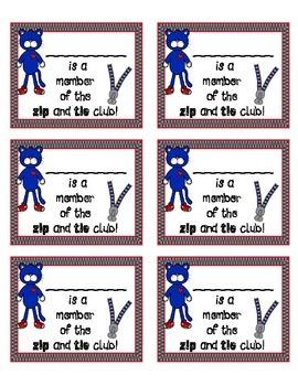 Zip and Tie Club