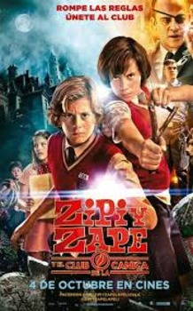 Zipi y Zape: el club de la canica movie worksheet in Spanish