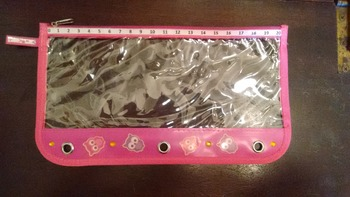 Zipper Addition and Subtraction Pencil Pouch