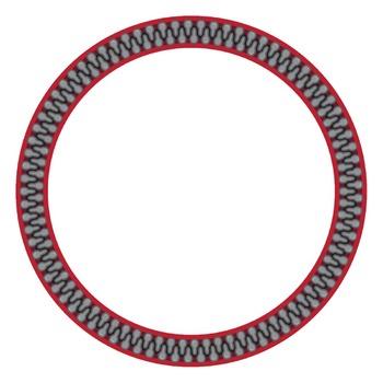 Zipper Border, Frames & Clip Art #3