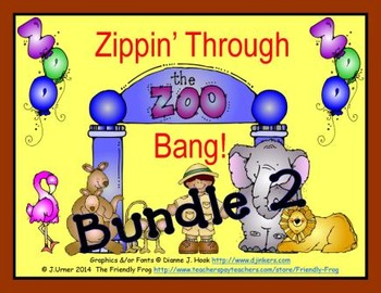 Zippin' Through the Zoo Bang! BUNDLE 2