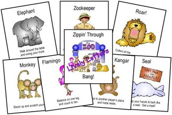 Zippin' Through the Zoo Bang! Lively Letters