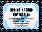 Zipping Around the World:  A Fun Project to Learn about other Countries!
