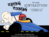Zipping, Zooming through Subtraction (Kindergarten K.OA Super Pack)