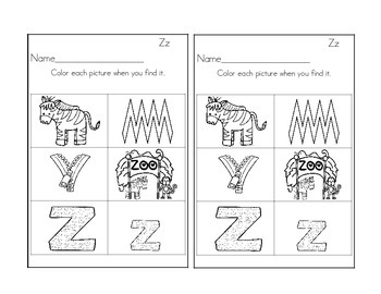Zipping our way through Letter Zz!:  Zz Activities