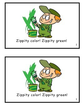 Zippity Color! Singalong Songbook