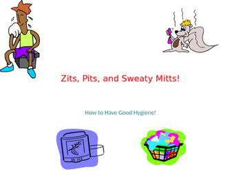 Zits, Pits, and Sweaty Mits