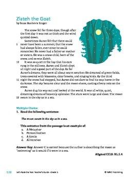 Zlateh the Goat - Literary Text Test Prep
