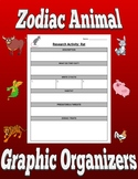 Zodiac Animal Graphic Organizers (Editable in Google Slides)