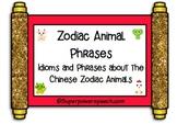 Zodiac Animal Phrases