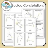 Zodiac Constellation Cards
