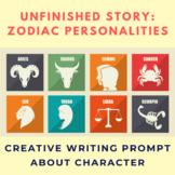 Zodiac Personality Unfinished Story Creative Writing Prompt
