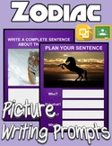 Zodiac Picture Prompt Writing (Google Classroom)