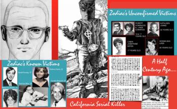 Zodiac - Serial Killer - Murders - California - FREE POSTER