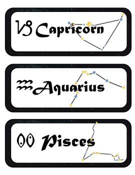 Zodiac Western Zodiac Mini Research & Analysis Fold-Ems