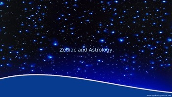 Zodiac and Astrology PPT