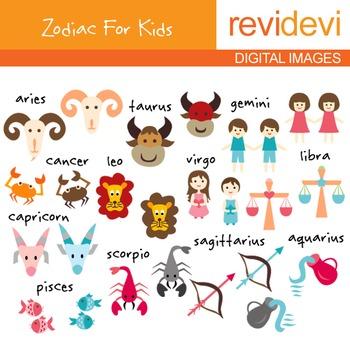 Zodiac clip art