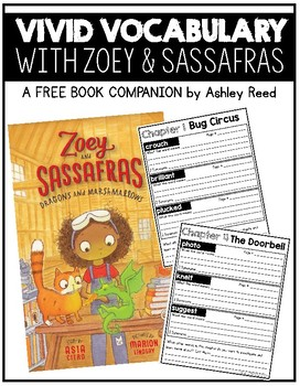Zoe and Sassafras Vocabulary Companion for Dragons and Marshmallows