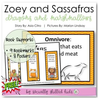 Zoey And SASSAFRAS, DRAGONS And MARSHMALLOWS {Science Experiment}