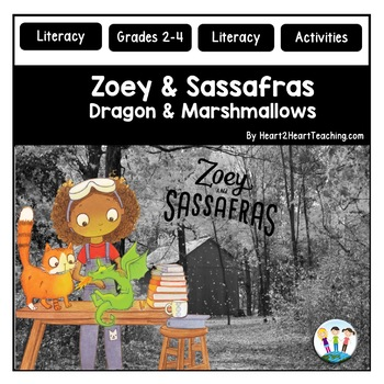 Zoey and Sassafras #1: Dragons & Marshmallows Book Companion & Activity Pack