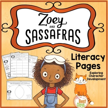Zoey and Sassafras:  Dragons and Marshmallows Book Study