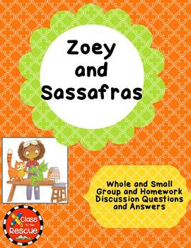 Zoey and Sassafras Dragons and Marshmallows Discussion Questions and Answers