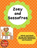 Zoey and Sassafras Dragons and Marshmallows Discussion Que