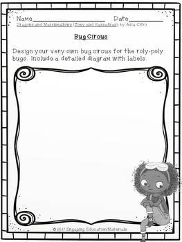 Zoey and Sassafras: Dragons and Marshmallows Writing Responses FREEBIE