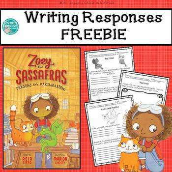 Zoey and Sassafras: Dragons and Marshmallows Writing Respo